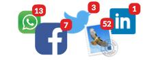 Logos of social Networks